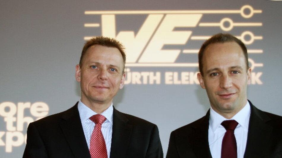 Josef Wörner (links) ist als Head of Sales für den globalen Vertrieb verantwortlich. Romain Jugy verantwortet als Head of Product Management die Bereiche Produktion und Entwicklung.