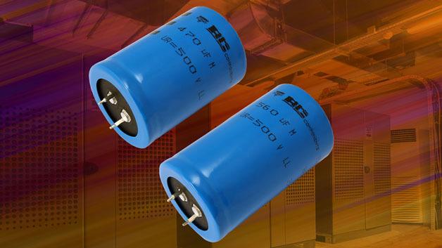 Bis zu 2200 µF haben die Aluminium-Elektrolytkondensatoren der Serie »157 PUM-SI«