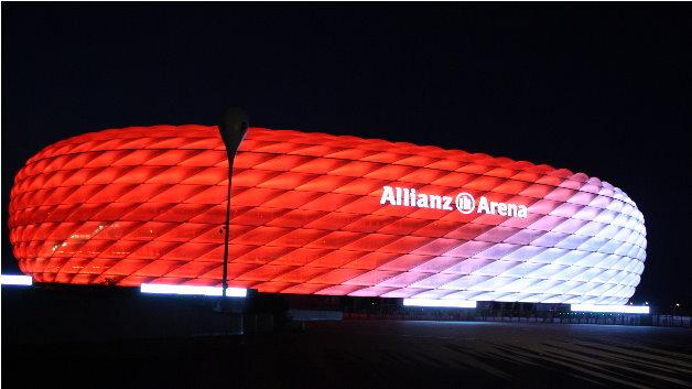 LEDs statt Leuchtstoffröhren: Allianz Arena mit neuer LED ...