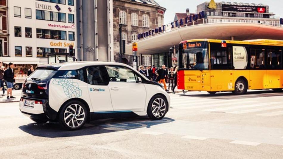 Anfang September startet das elektrische Carsharing-Programm DriveNow in Kopenhagen.