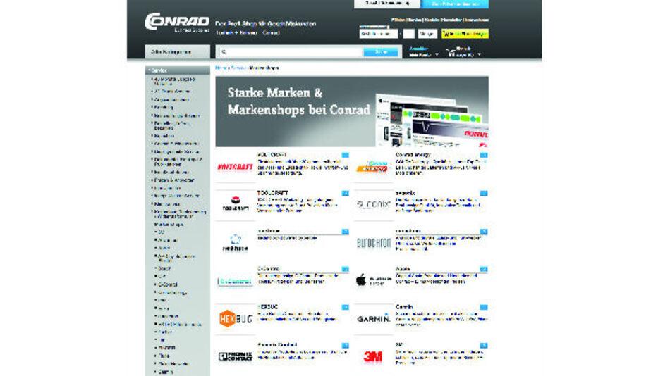 Distributor bietet nun über 50 verschiedene Markenshops an