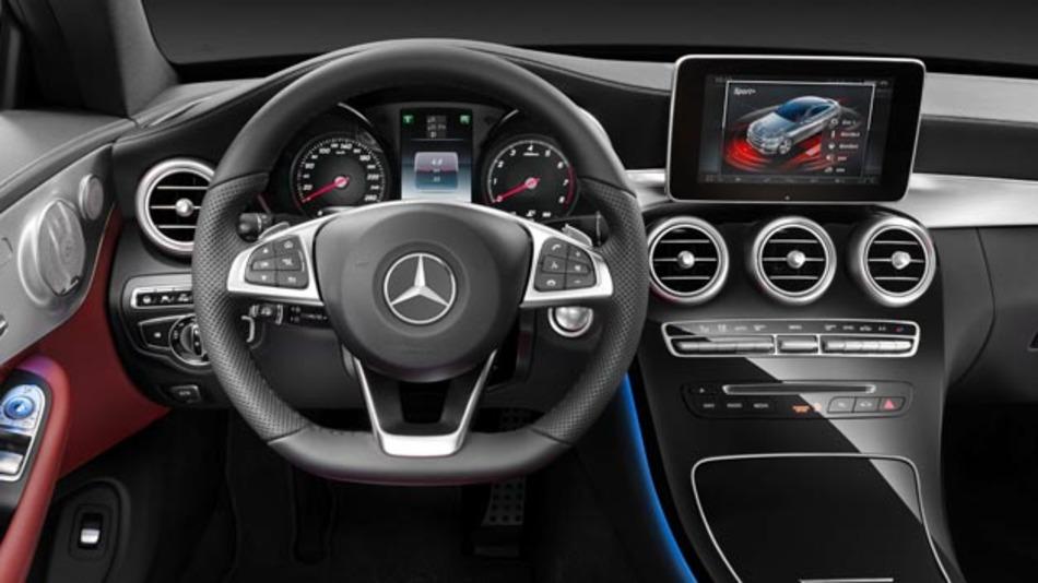 Sicherheit und Komfort im Mercedes-Benz C-Klasse Coupé