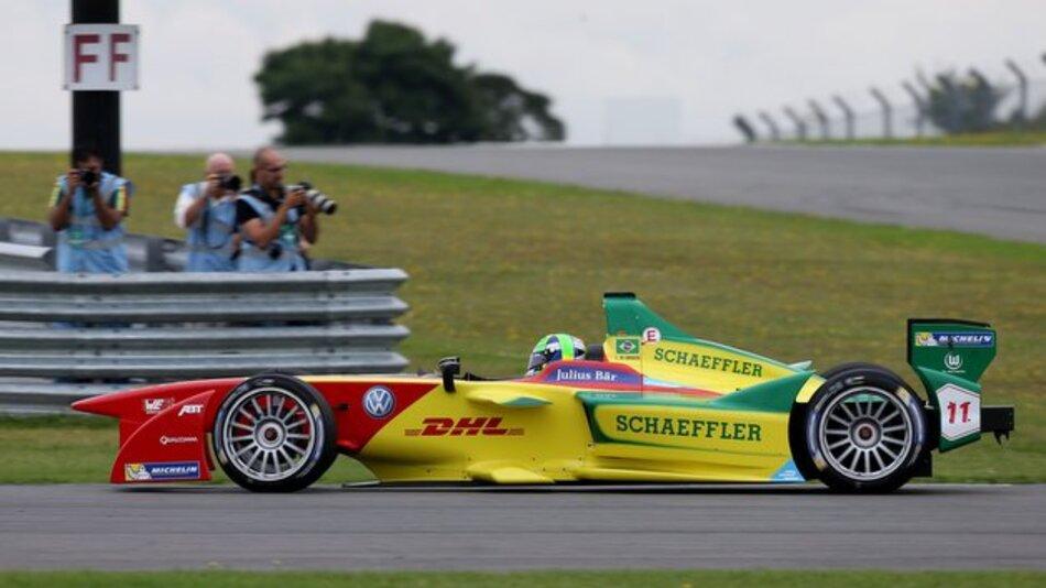 Der neue ABT Schaeffler FE01 ist bereit für die Formel E.
