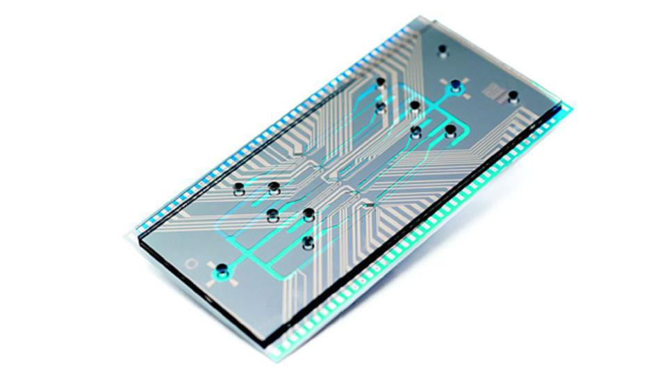 Bild 2. Zur Krebsfrüherkennung setzt das IMEC auf ein optisches Zellen-Screening, bei dem MEMS-Chips bis zu 20 Mio. Zellen/s sortieren können.
