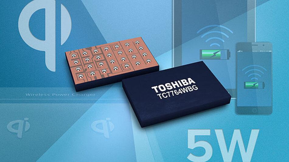 Mit dem Wireless-Power-Empfänger-IC »TC7764WBG« von Toshiba Electronics können Mobilgeräte nun drahtlos genauso schnell geladen werden wie über Ladekabel. Die Ausgangsleistung des Bausteins entspricht mit 5 W der Low-Power-Spezifikation Version 1.1.2 des Qi-Standards, welcher durch das Wireless Power Consortium, kurz: WPC, definiert wurde. Den Leistungswandlungs-Wirkungsgrad des Bausteins für die maximale Ausgangsleistung von 5 W gibt Toshiba mit 95 % an. Ausgeliefert wird das Wireless-Power-Empfänger-IC im 2,4 × 3,67 × 0,5 mm³ großen WCSP28-Gehäuse.