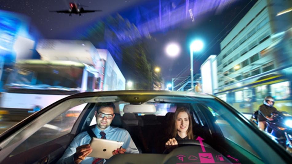 Echtzeit für das vernetzte Auto dank LTE