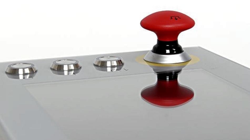 Kundenspezifische Variante eines kapazitiven Touchscreens