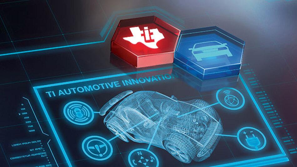Das moderne Fast-Chip-Radarsystem erfasst mit dem passenden Baustein die Radarsignale und leitet das an die Fahrerassistenzsysteme weiter.
