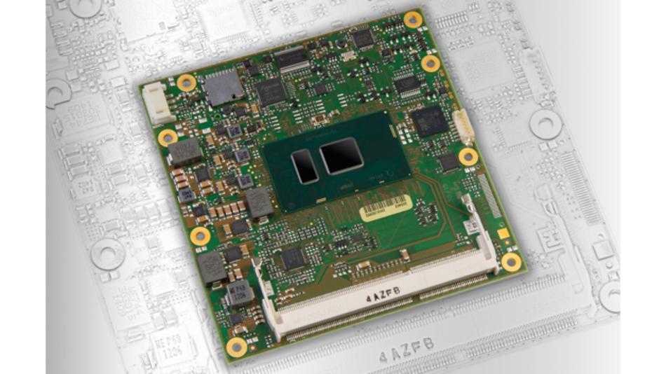 »MSC C6C-SLU« heißt die Type-6-COM-Express-Modulfamilie, die MSC Technologies nun vorgestellt hat