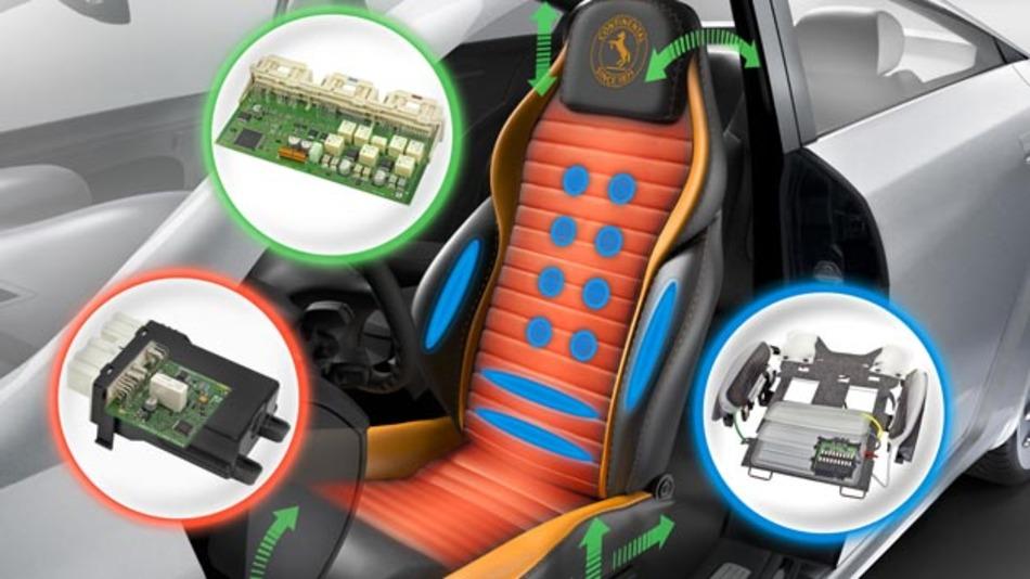 Der moderne Sitz bietet nicht nur Komfort, sondern auch Sicherheit. Auch für das automatisierte Fahren kann er eine wichtige Rolle spielen, wenn der Fahrer beispielsweise durch Vibrationen bestimmte Informationen bekommt.