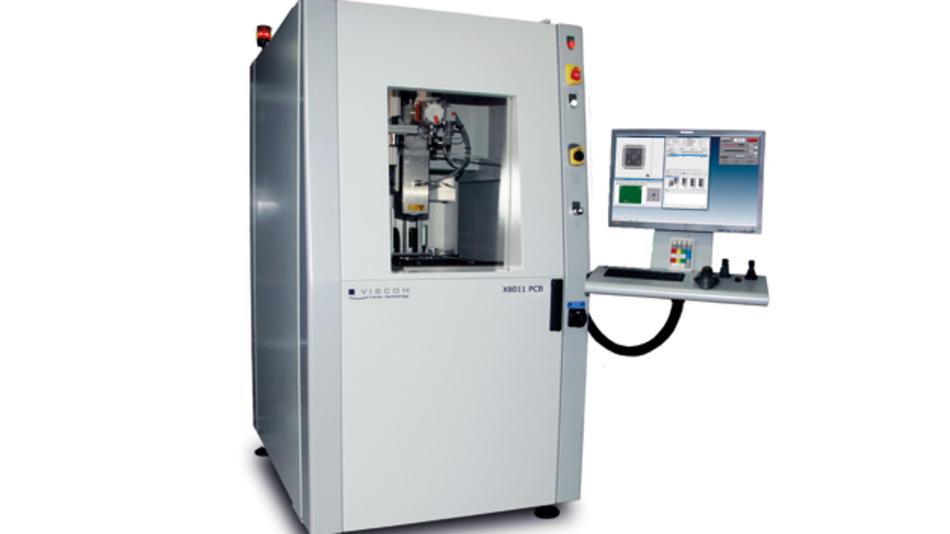 MXI-Röntgeninspektion mit der X8011 PCB