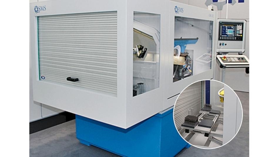 Rolltorsystem für eine Schleifmaschine