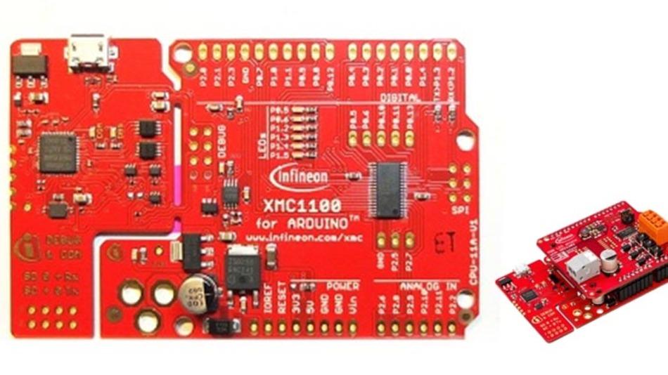 Das XMC1000 Boot Kit für Arduino.
