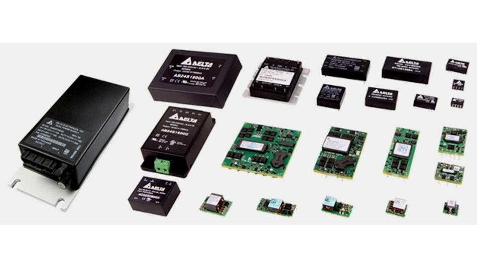 650 neue Stromversorgungsprodukte von Delta Electronics