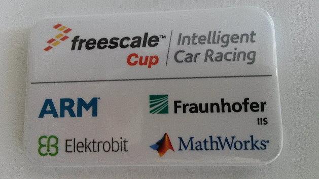 Der Freescale-Cup begeistert auch mehrere Sponsoren.