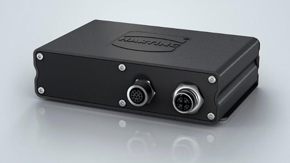 Durch seine Kompaktheit eignet sich der Mini-Box-IPC »Harting IIC MICA« für die unterschiedlichsten dezentralen Aufgaben im Feld.