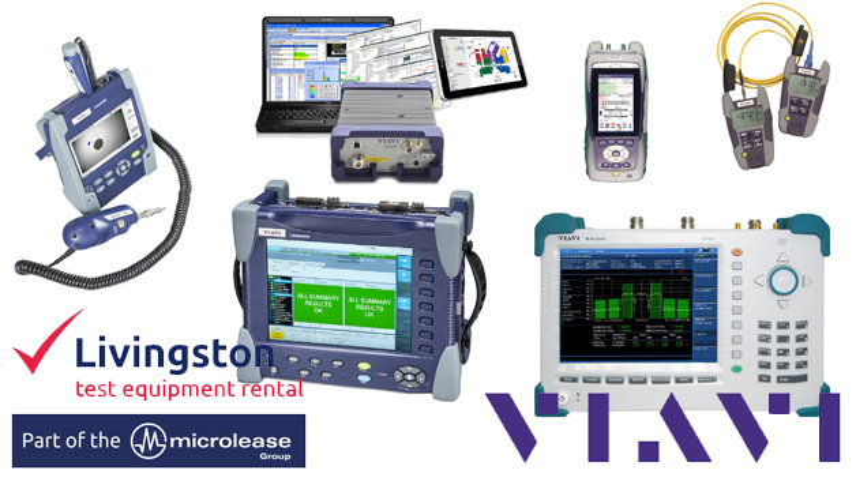 Livingston vertreibt nun die Produkte von Viavi Solutions.