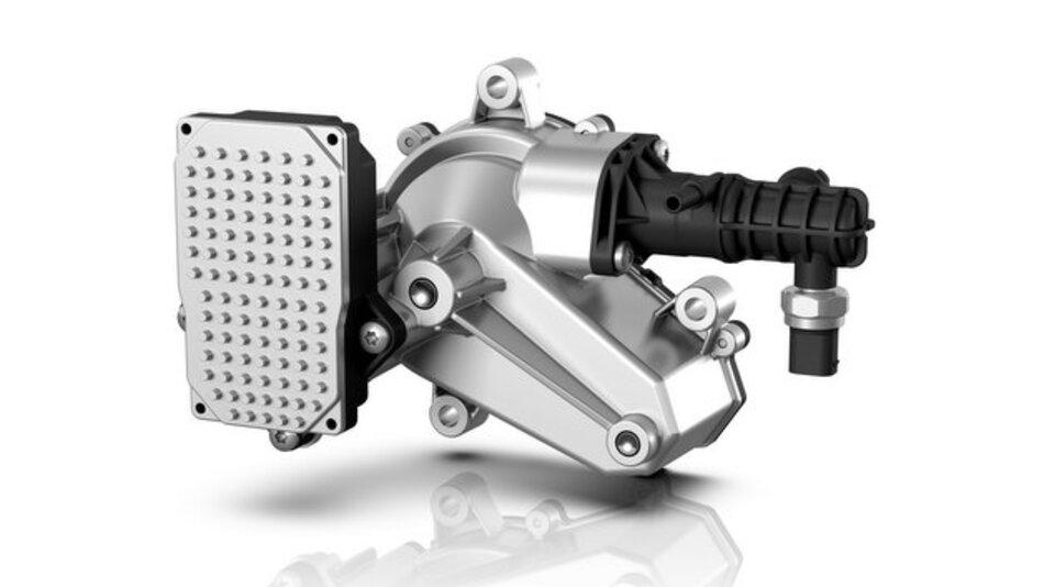 Im Clutch-by-Wire-System ersetzt eine Aktuatoreinheit mit Elektromotor die konventionelle Pedalkraftübertragung.