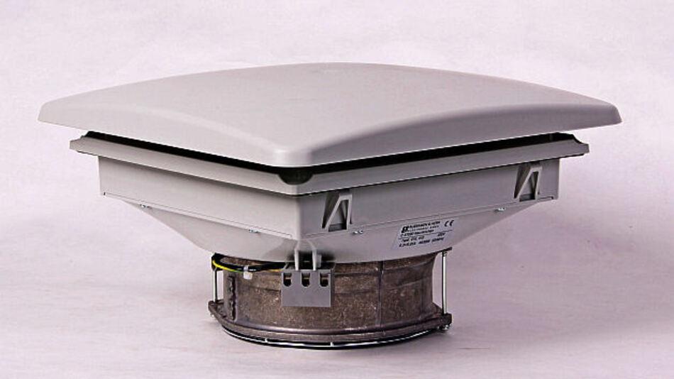 Kompakte Dachlüfter-Lösung