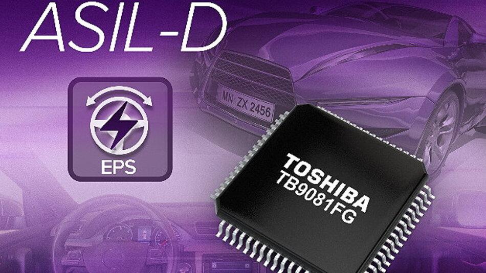 Neuer IC bietet mehr Funktionen mit Schaltkreisen für die funktionale Sicherheit.