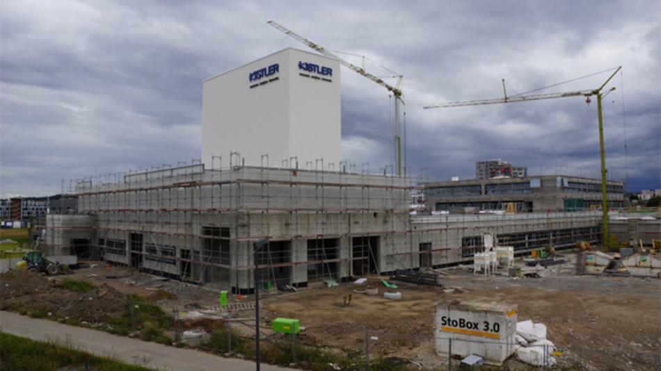 Im neuen Kistler Europa-Headquarter in Böblingen-Sindelfingen ist viel Platz für einen späteren Ausbau reserviert.