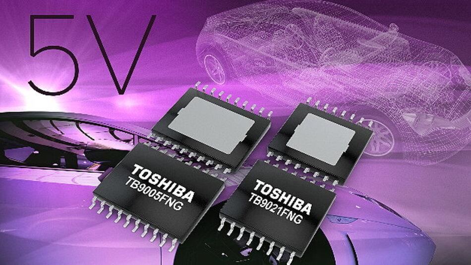 5V ICs bieten Funktionen für System-Reset und funktionale Sicherheit in Automotive-Anwendungen.