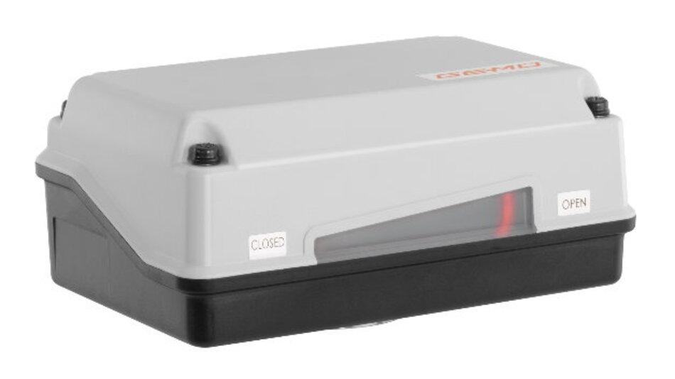 Eine spezielle Kraftübertragungstechnik bietet das neue Mitglied der Schwenkantriebsfamilie »GEMÜ 9428« von GEMÜ.