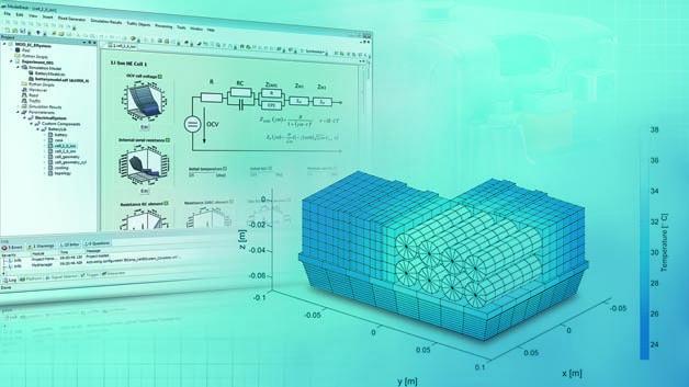 """Die Simulationsumgebung """"Toolbox Speichersysteme"""" lässt sich mit einer grafischen Benutzeroberfläche komfortabel für vielfältige Batteriesimulationsaufgaben nutzen."""