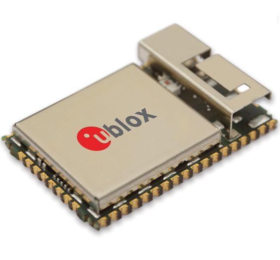 Bild 4: Das Multiradio-Modul »Odin-W262« von u-blox unterstützt mehrere Wi-Fi- (2,4 und 5 GHz) sowie klassische Bluetooth- und Bluetooth-Smart-Verbindungen gleichzeitig