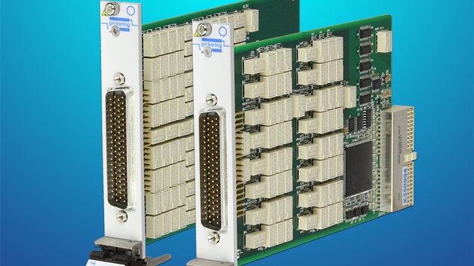 Mit den PXI Modulen von Pickering Interfaces lassen sich Fehler in seriellen Schnittstellen simulieren.