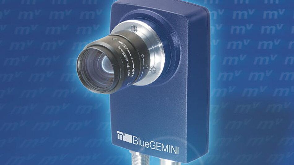 Nur wenig Bildverarbeitungskenntnisse erfordert die Smart Camera »mvBlueGEMINI« von Matrix Vision.