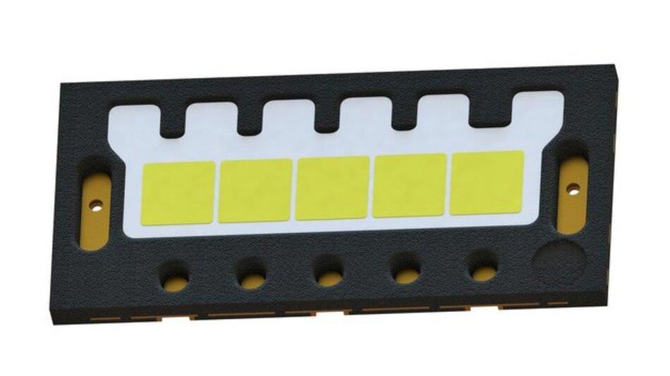 Die Oslon Black Flat S mit fünf Chips soll ab Ende 2016 zur Verfügung stehen.