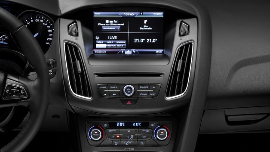 Die in Europa neueste Generation des sprachgesteuerten Kommunikations- und Entertainmentsystems von Ford heißt SYNC 2.