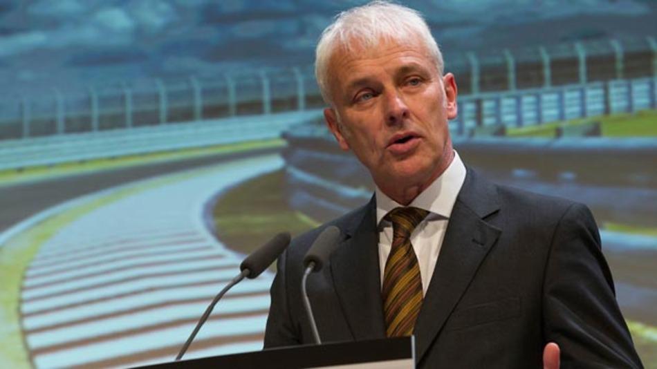Matthias Müller - bis dato Porsche-Chef - übernimmt den Vorsitz des Vorstandes bei Volkswagen.
