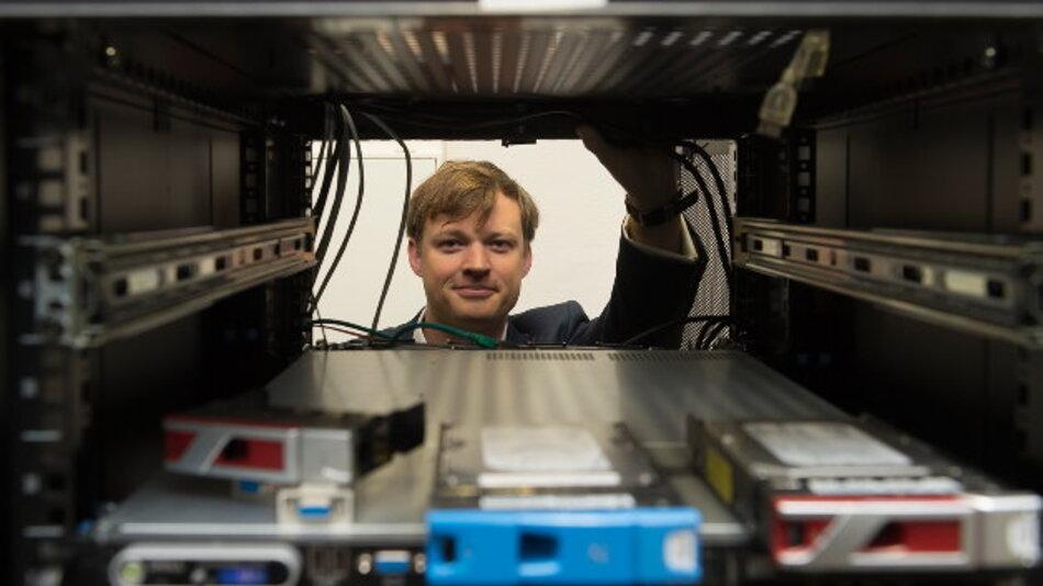 Junior-Professor Alexander Markowetz vom Institut für Informatik III der Universität Bonn.