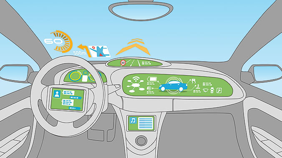 Bild 1. Die Zahl der verfügbaren Fahrerassistenzsysteme wird noch erheblich wachsen.