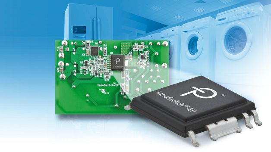 Mit dem InnoSwitch EP lässt sich beispielsweise eine mehrkanalige Onboard-Stromversorgung  mit 20 W Ausgangsleistung und einem Wirkungsgrad von etwa 90 Prozent realisieren.  Die Netzüberspannungsregelung und die Überstromfunktion arbeiten dabei  mit einer Genauigkeit von jeweils ±5 Prozent