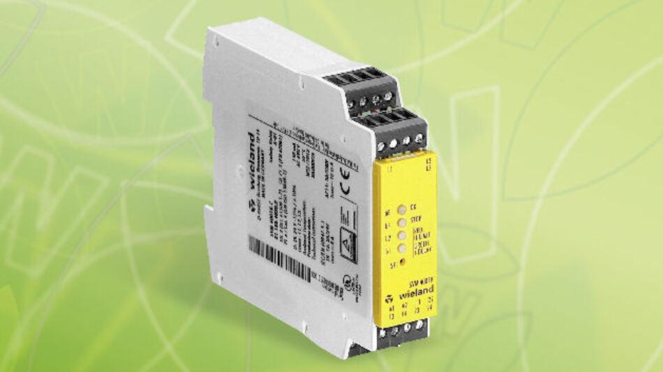 Das SVM 4001K ist ein kompaktes Sicherheitsschaltgerät