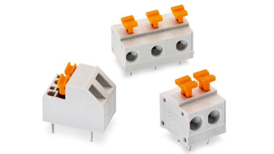 Würth Elektronik eiSos ergänzt sein Programm an Terminal-Blocks um drei neue Serien.