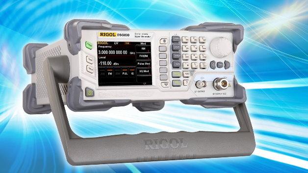 Mit der neuen HF-Generator-Serie DSG800 schließt Rigol die Lücke zwischen 1,5 und 3 GHz im General-Purpose-Markt.