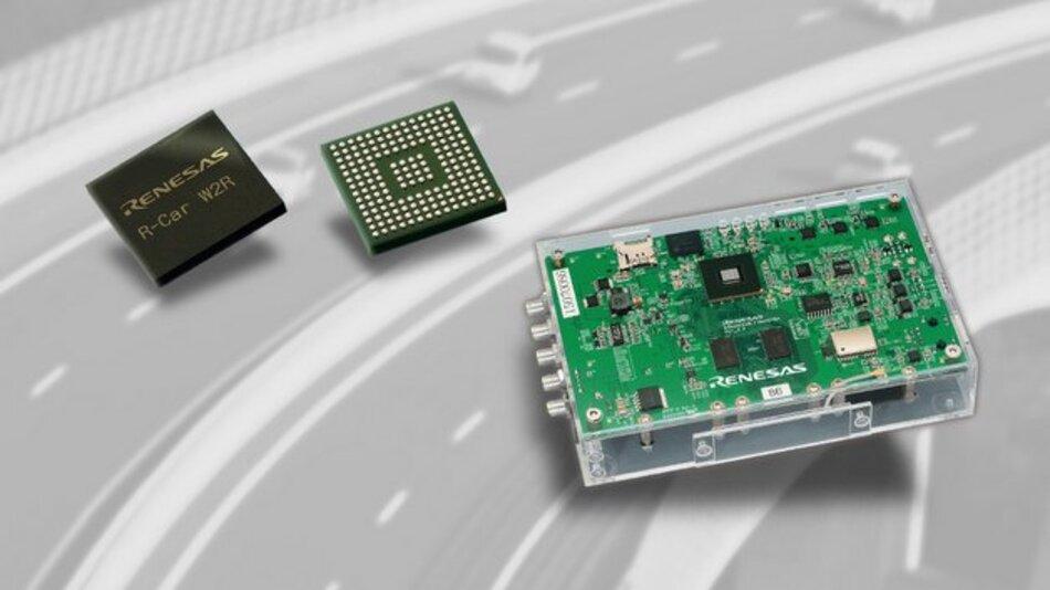 R-Car W2R beruht auf einer proprietären Entwicklungstechnologie für HF-Systeme.