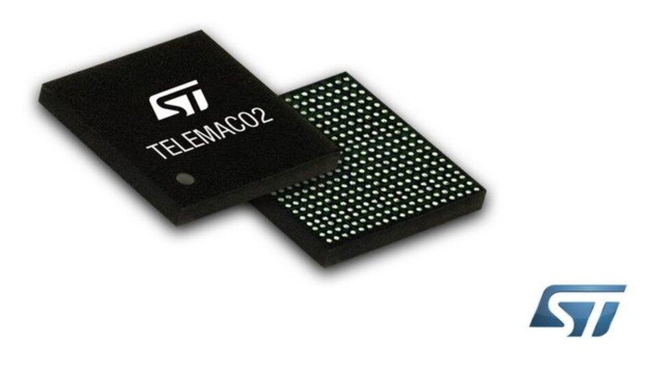 Die Bausteine der Telemaco2-Reihe enthalten nur für die für Telematiklösungen relevanten IP-Blöcke.