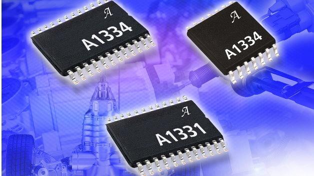 Die 2-Chip-Hall-Winkelsensor-ICs A1331 und A1334 von Allegro eignen sich unter anderem für die Motorpositionierung
