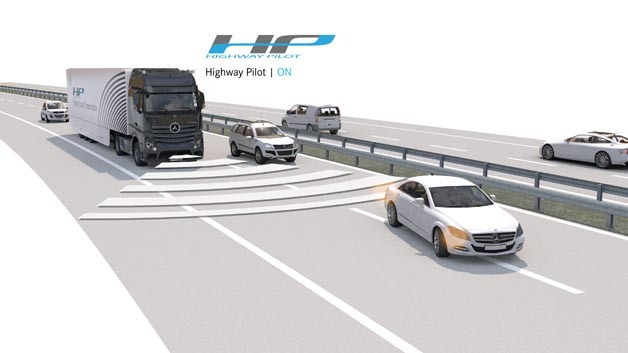 Mercedes-Benz Actros mit Highway Pilot