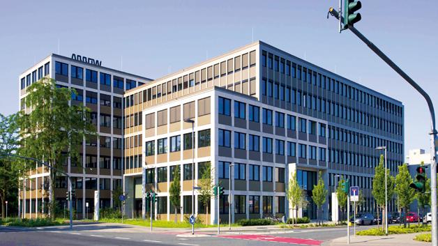 Arrow-Europazentrale in Neu-Isenburg