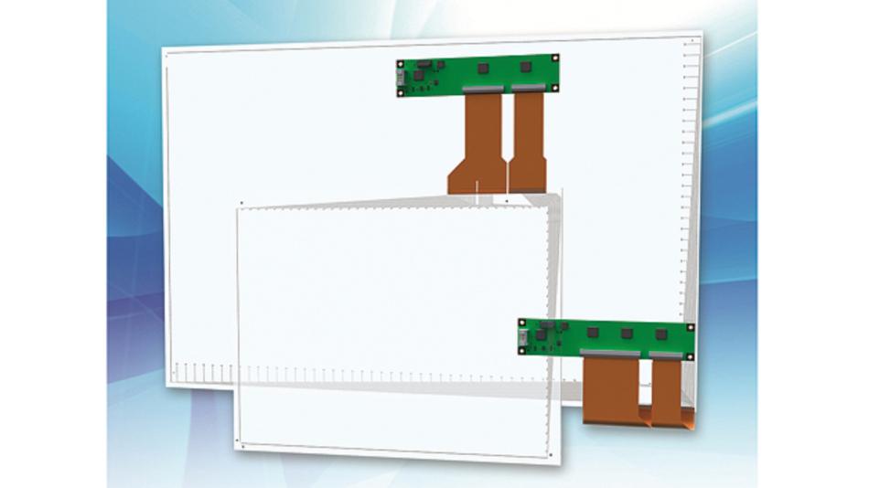 Bild 1. Die PCT-Sensoren des HMI-Spezialisten nutzen hochwertige ITO-Strukturen mit Linienbreiten bis herab zu 0,1 mm und Flächenwiderständen von typisch 60 Ω.