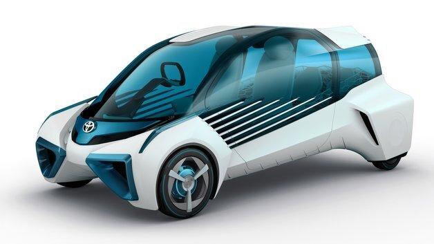 Der FCV Plus kann auch Wasserstoff aus einem externen Tank in elektrische Energie umwandeln.
