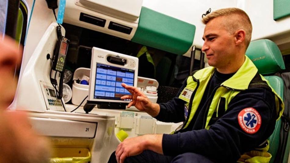 CSC sorgte in Stockholm für die Vernetzung von Rettungswagen.