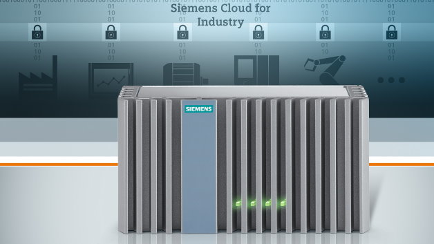 Erstmals auf der SPS IPC Drives zu sehen: das Cloud-Gateway »Connector Box« für die offene Cloud-Plattform »Siemens Cloud for Industry«.