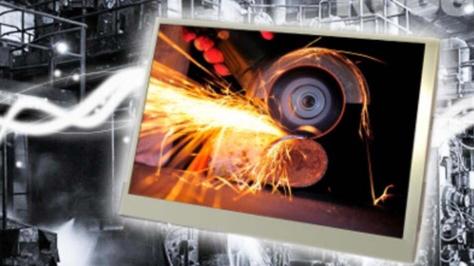 Im weiten Temperaturbereich von -40 bis +85 °C lässt sich KOEs robustes 7-Zoll-TFT-Display TX18D205VM0BAA (Vertrieb: MSC) betreiben.